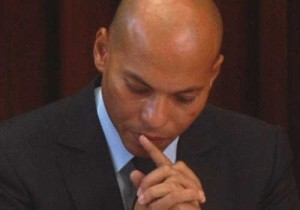 Karim Wade: to stay in jail for corruption