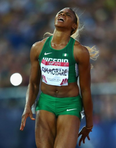 Blessing Okagbare : big flop of the night