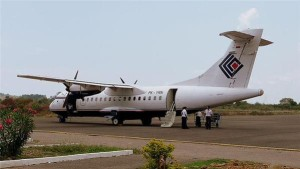 The Trigana plane that crashed