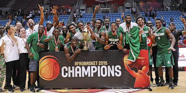 Nigeria are Africa's Basketball champions