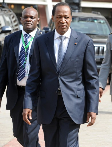 Burkinabe  ex-President Blaise Compaore: associates barred from race