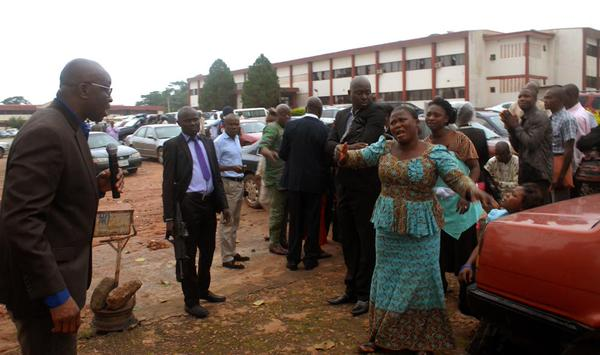 A Woman also pleads with her governor for leniency