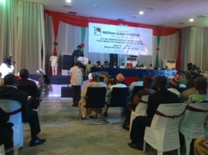 Governor Dickson renders account of his stewardship to Nigerian editors, a replica of his Town Hall meetings with the people