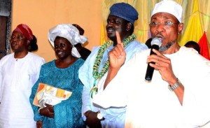Aregbesola speaks at the ceremony