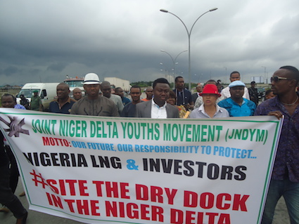 The Niger Delta protesters