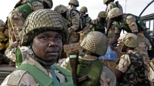 NigerianTroops:  Smoke insurgents out of Gudumbali town