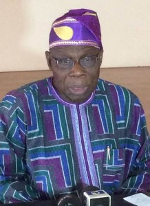 Obasanjo: rallies support for Buhari