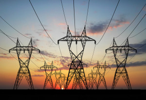 Powe lines for electricity distribution in Nigeria