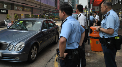 Hong Kong cops: puzzled about the diamond swap