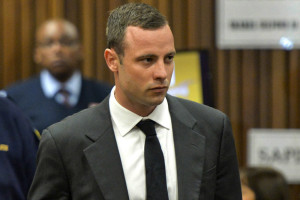 Oscar Pistorius: to be released from prison on Friday