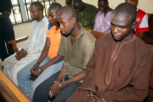 File Photo: Boko Haram suspects arrested by DSS