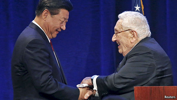 It's a deal; Xi Jiping and an American businessman
