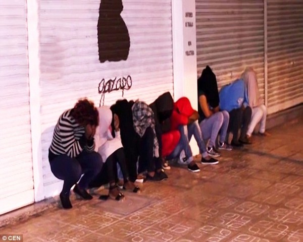 Busted: the Nigerian prostitutes arrested in Spain