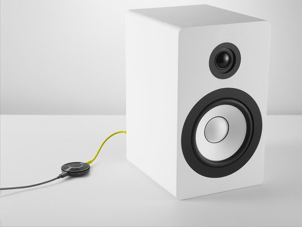 Chromecast Audio is a new line of devices that plug into speakers and receive music sent from a phone. Credit Google