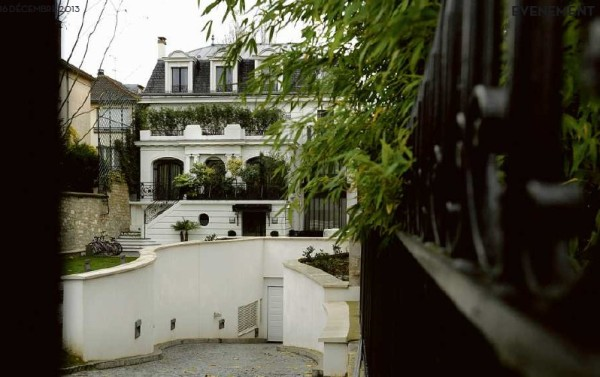 Sassou Nguesso's property at Neuilly-sur-Seine