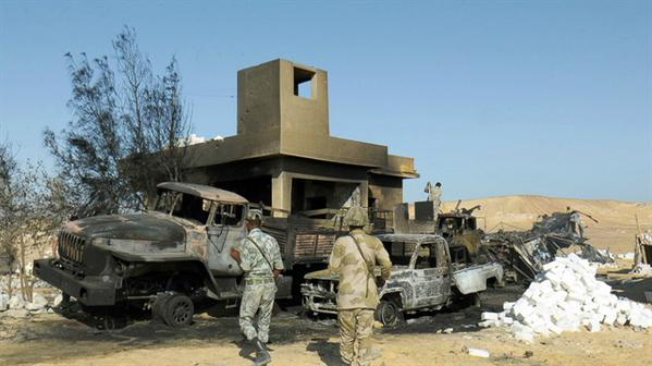 Egypt troops in accidental killing of Mexicans