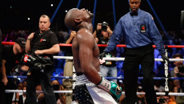 Mayweather: quits on his own terms
