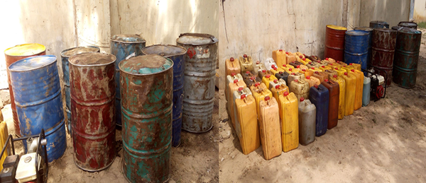 Boko Haram fuel depot seized by Nigerian soldiers
