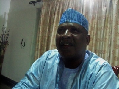 """Dr. Umar Musa Mustapha: """"Apparently, there is a claim that there is a gap between Open University and Law School. The best way to resolve this is to go through dialogue. Let the Law School take a look at the curriculum of Open Distance Learning. Where the Law School feels there is a deficiency, let it be pointed out for improvement. Law school must appreciate various ways of learning and that learning doesn't take place alone in the classroom. I have known people that have studied law from the London School of Economics."""""""