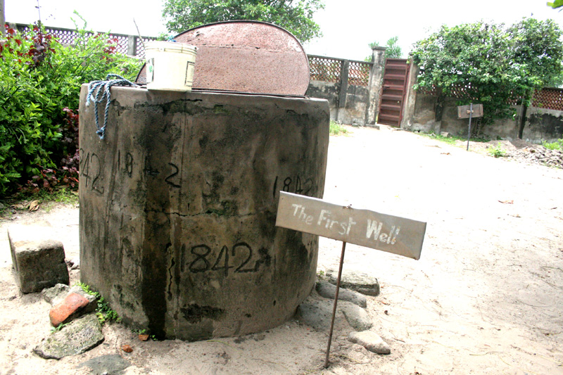 The 173-year old well