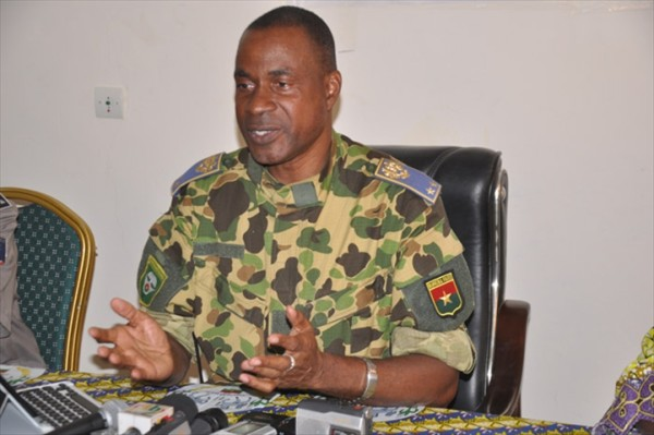 General Gilbert Diendere: house burnt by irate protesters