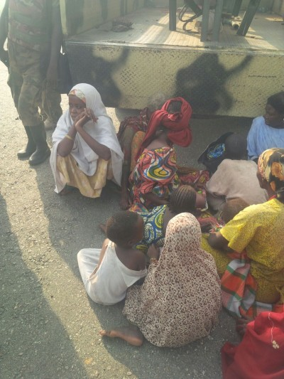 Boko Haram camps: women and kids rescued by Nigerian troops