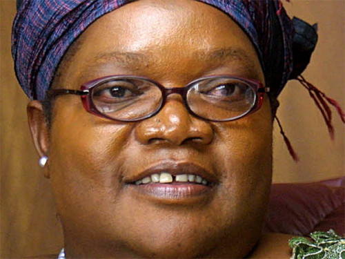 Joice Mujuru: prepares for a poll fight with the Old Man
