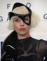 """Musician Lady Gaga attends the ArtRAVE: Lady Gaga's """"Artpop"""" Official Album Release Party at the Brooklyn Navy Yard on November 10, 2013 in Brooklyn, New York City."""