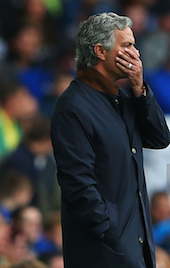 Mourinho: Gutted at Goodison Park