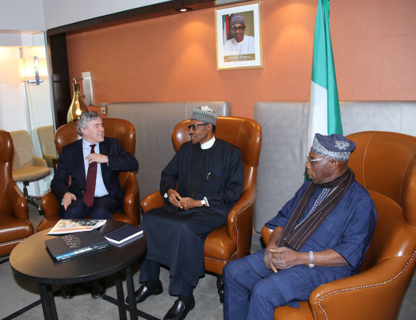Buhari in discussions with Brown
