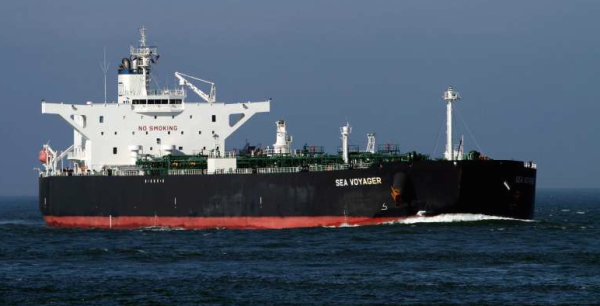 The Sea Voyager that delivered crude to Venezuela