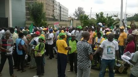 The groups at the Ikeja rally