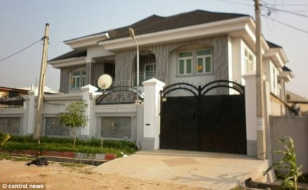 The conman's Lagos mansion