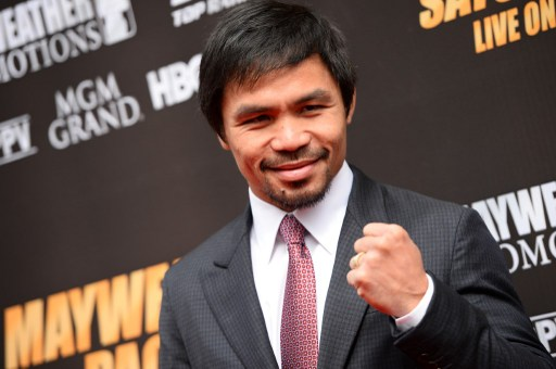 Boxer Manny Pacquiao : set to retire after one more fight