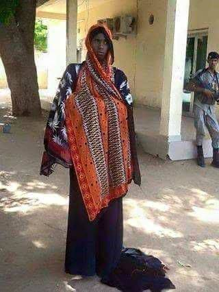 A Boko Haram member disguised as woman arrested in Cameroon in July