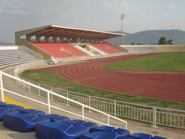 Jolly Nyame Stadium: blacklisted for one year