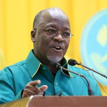 John Magufuli: of the ruling party