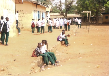 a school in Kaduna: government help on the way