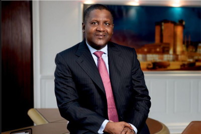 """Aliko Dangote earlier said in Lagos: """"We are pushing for Nigeria to do a concrete road. It is cheaper to do a concrete road that will last 50 years than to do a bitumen road. It will also help in eliminating corruption because if you go and build a bitumen road, it will have to be adequately maintained unlike a concrete road that is very durable."""""""