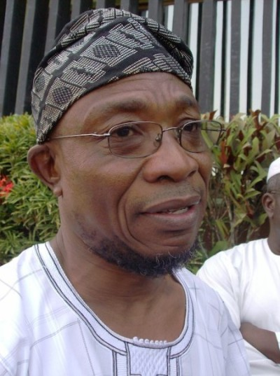 Governor Rauf Aregbesola: balloons government structures