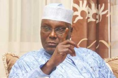 """Atiku Abubakar: """"Climate change not only makes us more vulnerable, it is a security issue as well. As severe weather changes threaten people's livelihood and their very existence, those who can have been moving and this massive migration leads to encroachment on the farms and waters of others which often leads to conflicts. The incessant conflicts between herders and farmers across this country readily come to mind."""""""