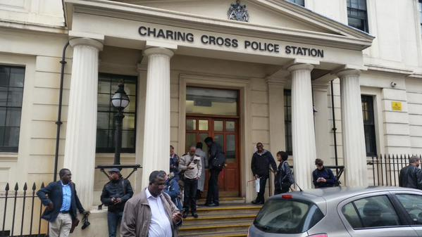 Charing Cross Police Station, Monday 5 October