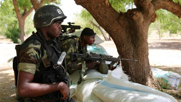 Cameroonian soldiers: In gun fire with Boko Haram
