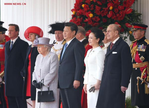 Xi Jinping, 3rd right and hosts