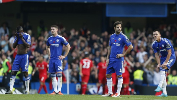 Chelsea midfield useless on a crucial day in Stamford Bridge