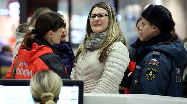 Relations of victims await news in Moscow