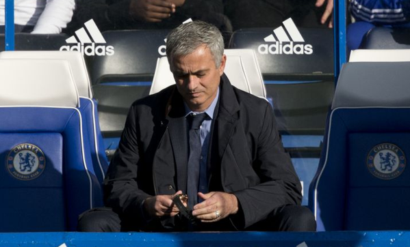 Mourinho: Just what is he thinking about?