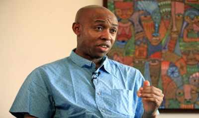 """Chidi Odinkalu: """"Nigeria is fully privatized. Everything is damned privatized. The richest people in the system are civil servants. They own almost everything in Abuja, and you ask yourself the question: how do we run a country like this? How can you say human rights is your property when everyody is exploiting the poor?"""""""