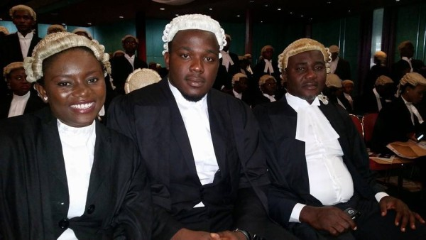 Some of the new lawyers