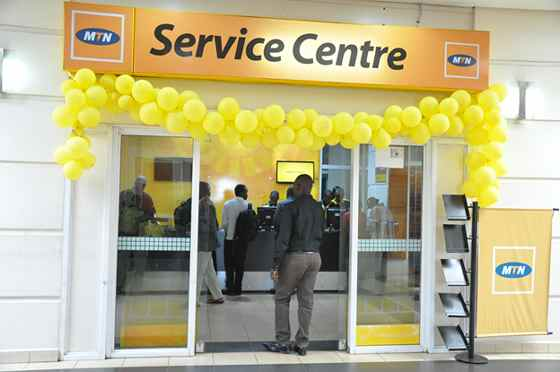 An MTN Outlet
